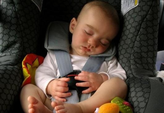 Los asientos infantiles para el coche