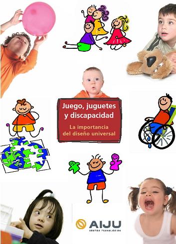 Guía de juguetes  y juegos para niños discapacitados