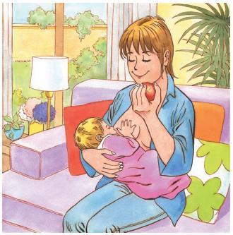 Alimentación de la madre: Resiste la tentación de la dieta