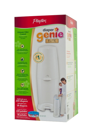 Deposito de pañales Playtex Diaper Genie II Elite