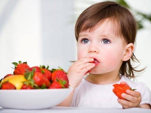 Incorporación de frutas acidas en la alimentación del bebé