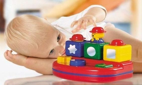 Juguetes para estimular bebés de entre 6 y 9 meses
