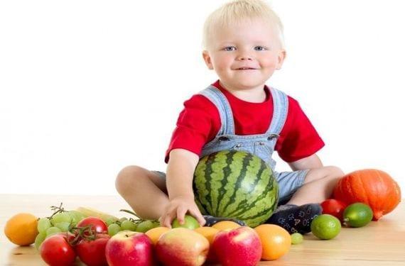 Las vitaminas en la dieta de los niños