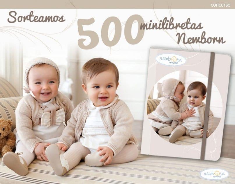 !Minilibretas newborn de Mayoral gratis para mamás!