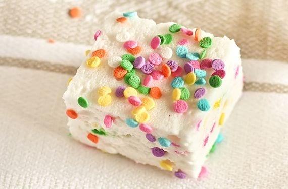 Malvaviscos de azúcar para cumpleaños infantiles