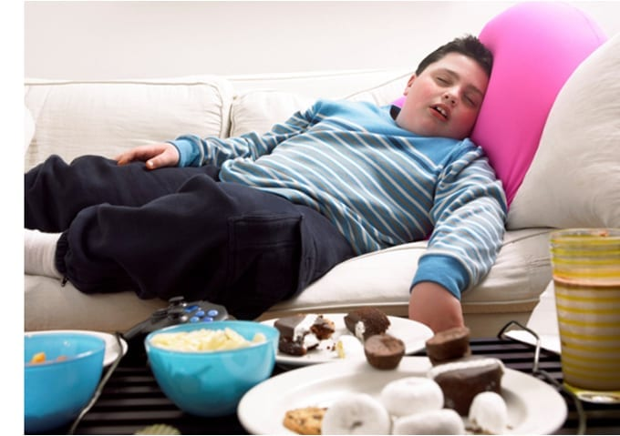 El peligro del sedentarismo en los niños