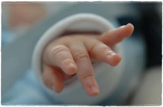 Uñas del bebé
