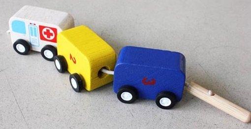 tren de coches