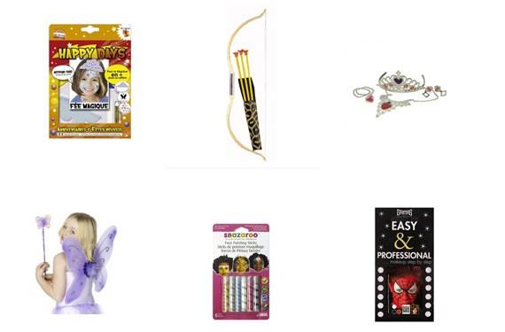 ejemplos de maquillajes y accesorios