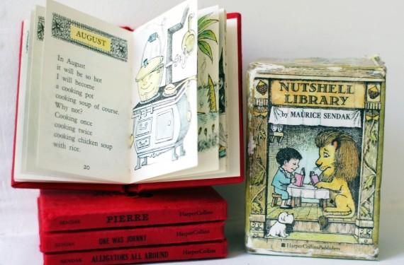 Caja de libros Nutshell Library