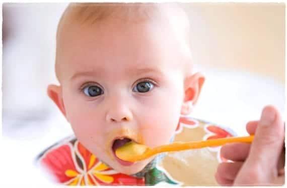Alimentación a los seis meses