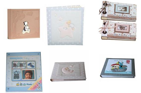 Álbumes de fotos para bebés