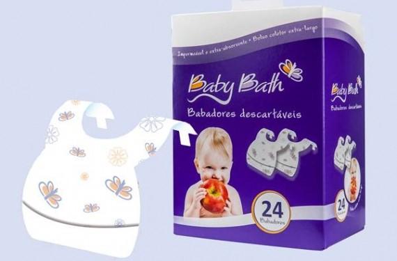 Baberos desechables Baby Bath