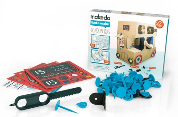 Kit de montaje Makedo London Bus