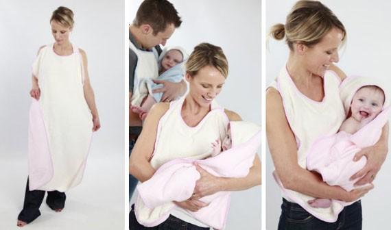 Toallas Baño Bebe | Toallas Amarradas Al Cuello Geniales Para El Bano De Los Bebes
