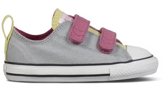 Zapatos converse de velcro de colores
