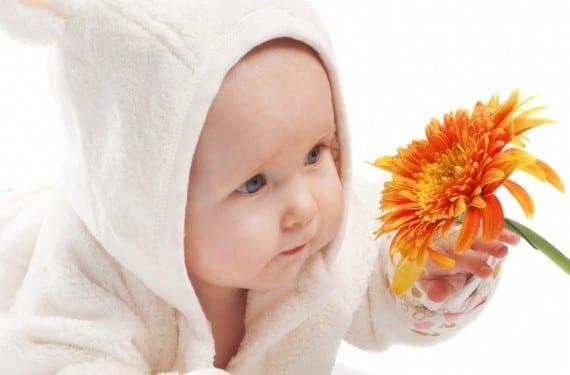 alergias en los bebés