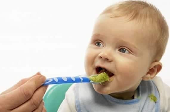 Alimentación sana para el bebé en Verano