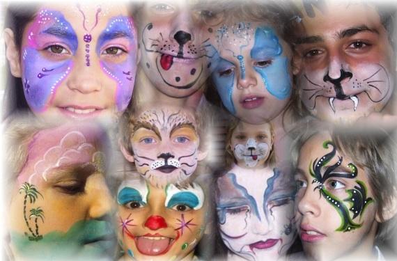Maquillaje para niños