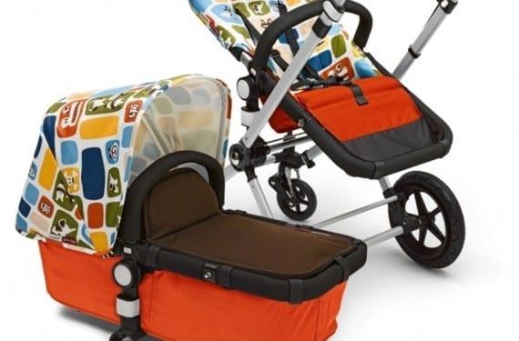 Textiles en los carros de bebés