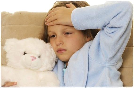 Dolor de cabeza infantil