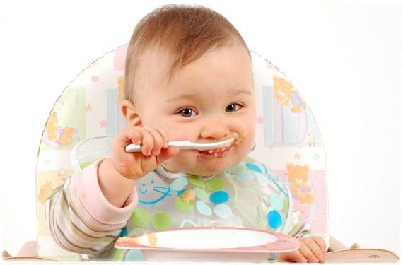 Menú para bebé