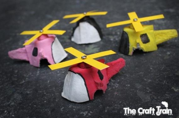 Helicópteros con hueveras