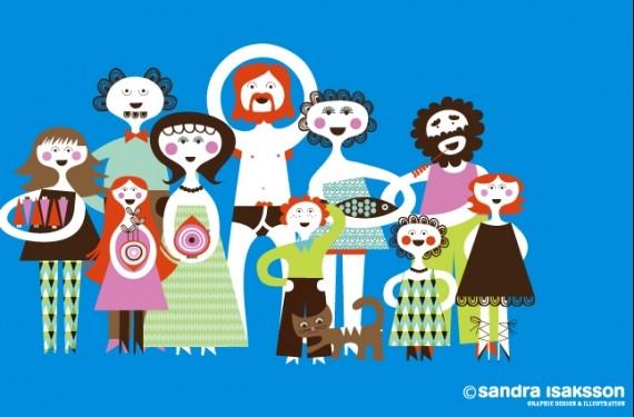 Ilustraciones de Sandra Issakon