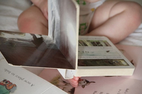 Consejos para leer cuentos junto con el bebé