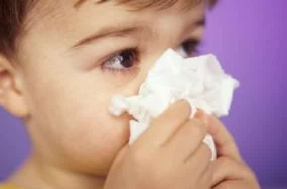 La sinusitis en bebés y niños