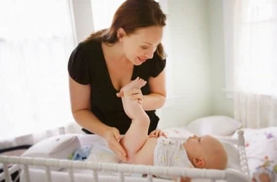 Supositorios en los bebés