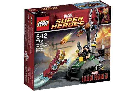 Superhéroes de Marvel para Lego