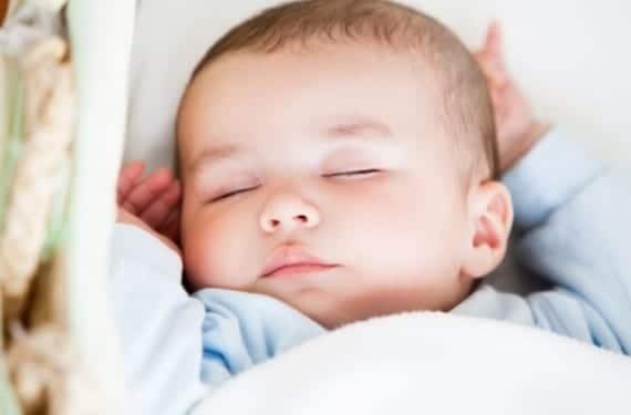 Siesta en los bebés