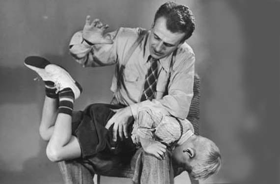 Castigo físico en niños