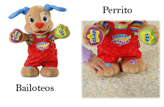 Perrito bailoteos de Fisher Price