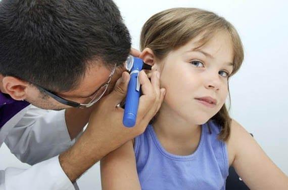 Infección de oídos en los bebés