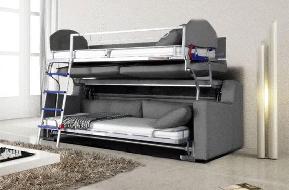 Sofá-cama literas