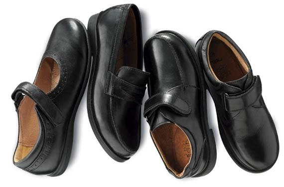 Zapatos de piel para el cole