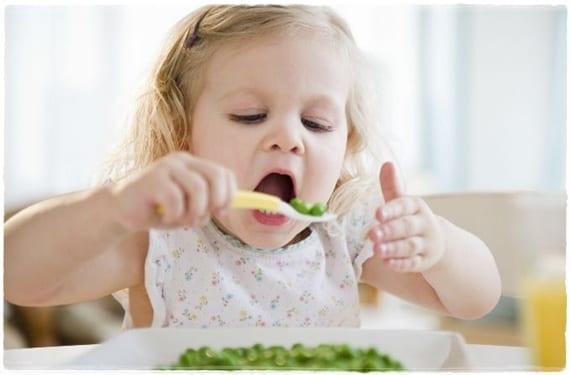 Menú para bebés de un año