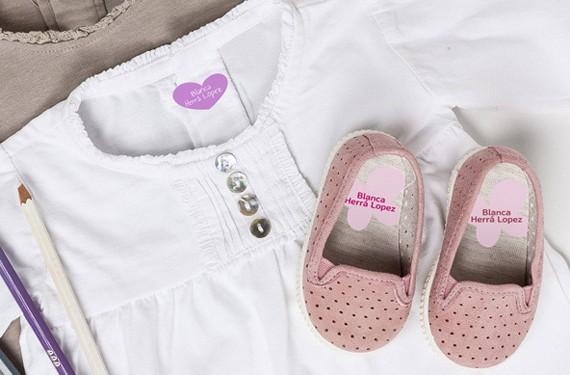 Etiquetas y pegatinas para ropa y calzado