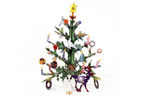 Árbol de Navidad de cartón Kindsonroof