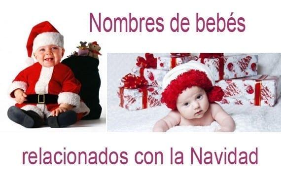 Nombres de bebés de Navidad