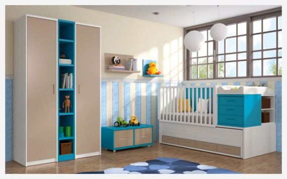 Habitación de bebé pandora