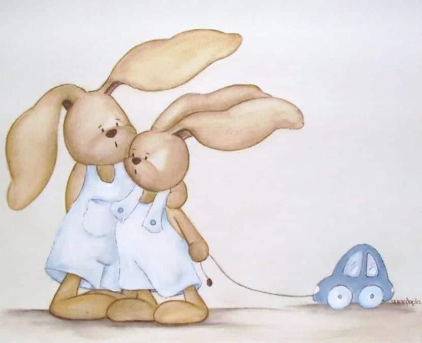 Decoraciu00f3n: cuadros infantiles para la habitaciu00f3n del bebu00e9
