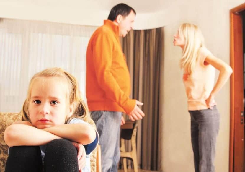 El divorcio en los niños