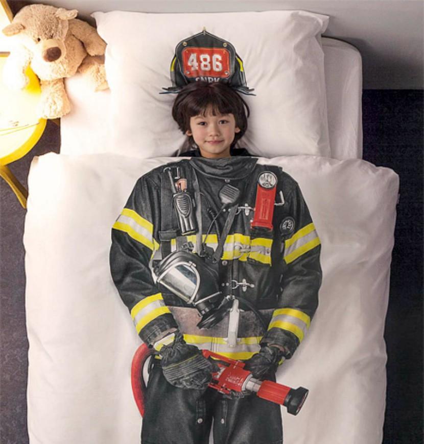 Sábanas de bombero para niños