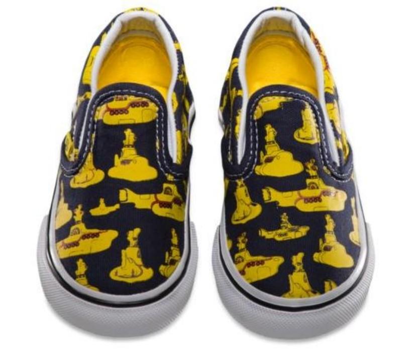 Zapatillas Vans Beatles Submarino Amarillo