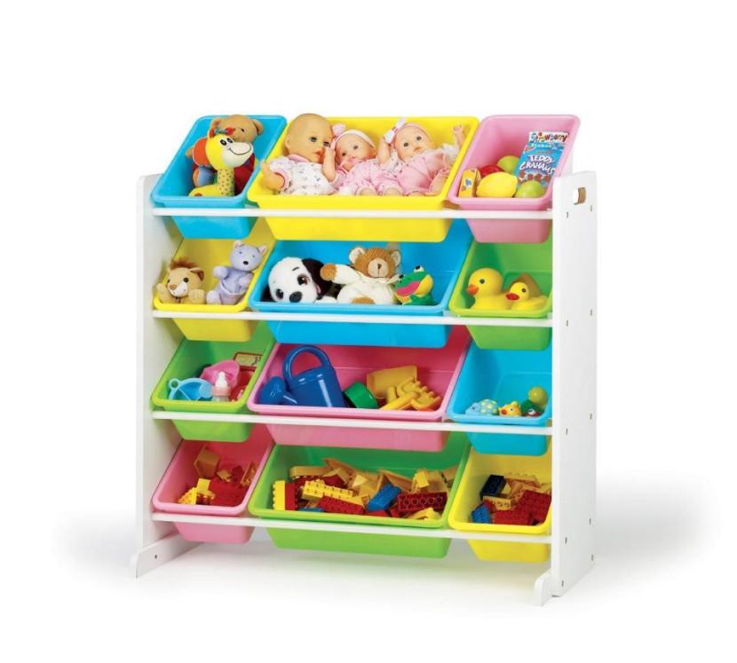 Muebles infantiles organizadores para sus juguetes - Organizar habitacion ninos ...