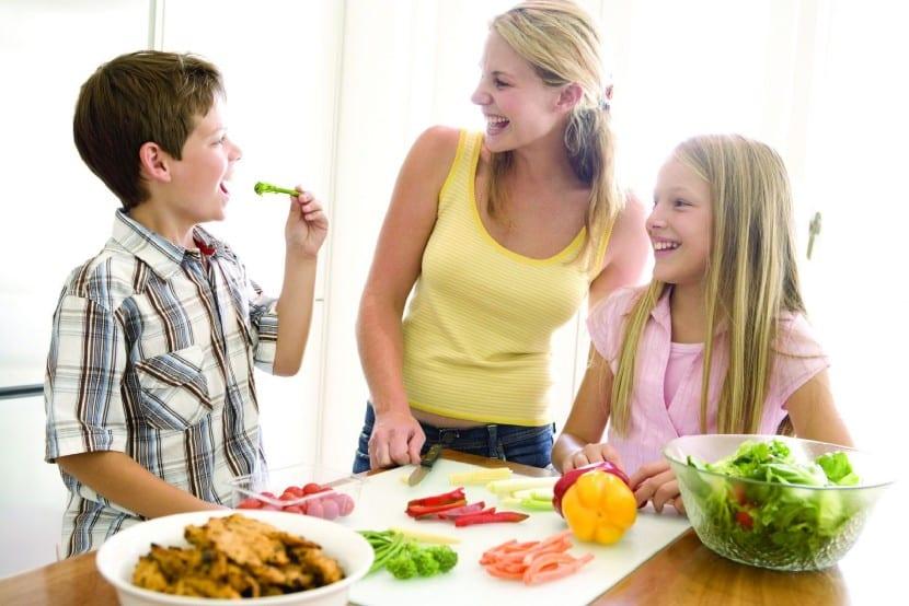 Pautas de alimentación en niños