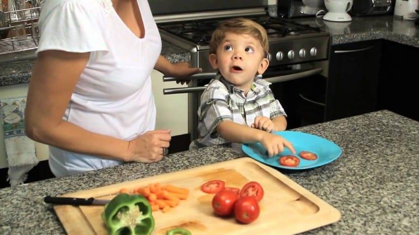 Recomendaciones alimentación niños